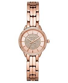 Women's Allie Rose Gold-Tone Stainless Steel Bracelet Watch 28mm