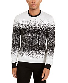 Men's Ombre Rib Crewneck Sweater, Created for Macy's