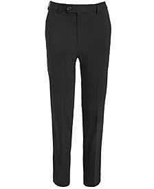 Lauren Ralph Lauren Big Boys Classic-Fit Stretch Black Twill Dress Pants