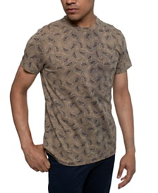 Kenneth Cole Men's Paisley Graphic T-Shirt