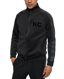 Kenneth Cole Men's Full-Zip Track Jacket