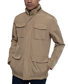 Kenneth Cole Men's Water-Resistant Tech Anorak Jacket