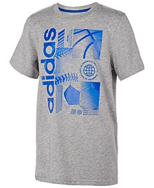 Big Boys Sport-Print T-Shirt