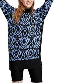 Wallpaper Tunic Sweater