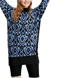 Free People Wallpaper Tunic Sweater