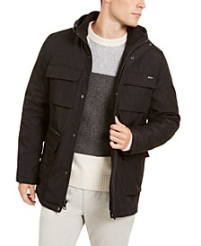 Men's Bonded All-Season Hooded Jacket, Created for Macy's