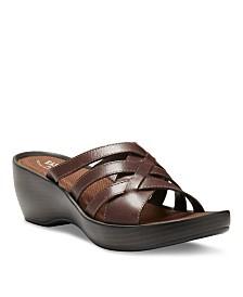 Eastland Women's Poppy Wedge Sandals