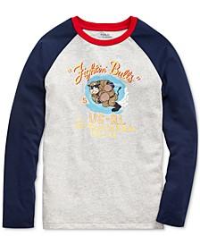 Big Boys Basic Jersey Baseball T-Shirt