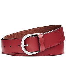 Calvin Klein Smooth Leather Belt