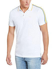 Men's Side Stripe Polo Shirt, Created for Macy's