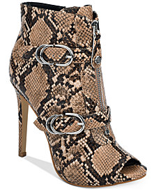 GUESS Arden Peep-Toe Dress Booties