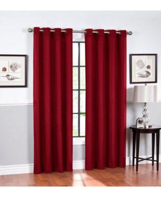 "Hudson Grommet Curtain, 63"" x 52"""