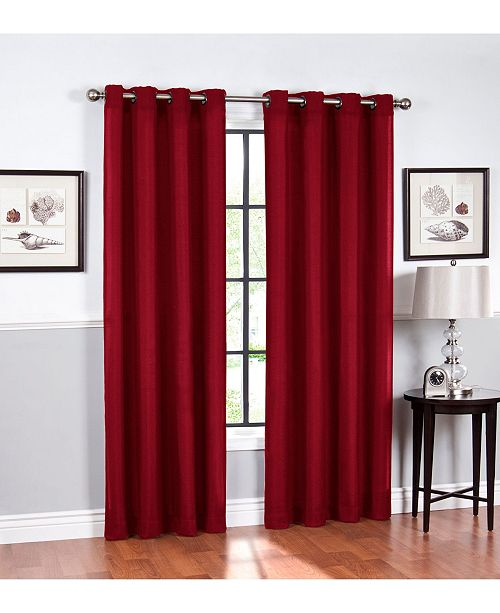 Regal Home Hudson Grommet Curtain