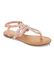Cute and Crafty Embellished Sandals