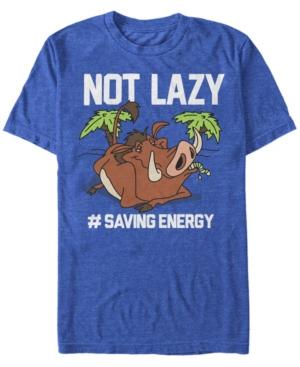 Pumbaa Not Lazy Short Sleeve T-Shirt