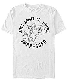 Disney Men's You're Impressed by Gaston Short Sleeve T-Shirt