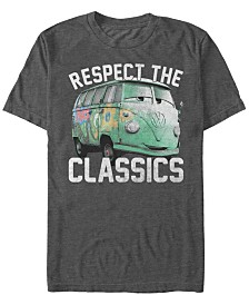 Disney Pixar Men's Cars Fillmore Respect The Classics Short Sleeve T-Shirt