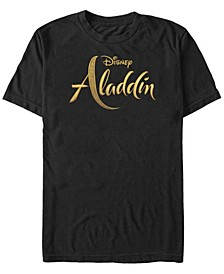 Disney Men's Live Action Logo Short Sleeve T-Shirt