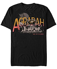 Disney Men's Live Action Agrabah City Short Sleeve T-Shirt