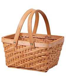 Vintiquewise Rectangular Chip Picnic Basket