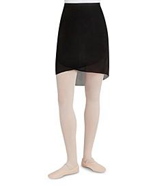 Georgette Long Wrap Skirt
