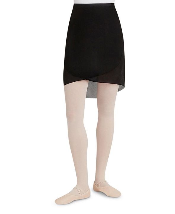 Capezio Georgette Long Wrap Skirt