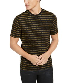 A|X Armani Exchange Men's Allover Logo T-Shirt, Created for Macy's