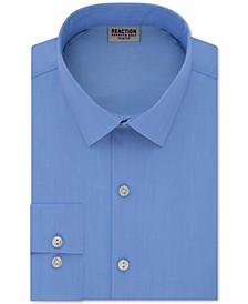 Men's Slim-Fit All Day Flex Performance Stretch Solid Dress Shirt