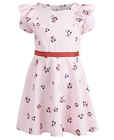 Disney Little Girls Ruffled Minnie Mouse Dress