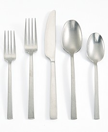 Rumble Stainless Steel 20-Pc. Flatware Set, Service for 4, Created For Macy's