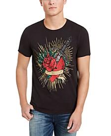 Men's Heart and Dagger T-Shirt