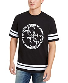 Men's Circular Logo Football T-Shirt