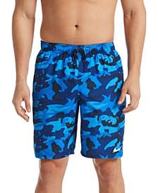 "Men's Camouflage 9"" Swim Trunks"