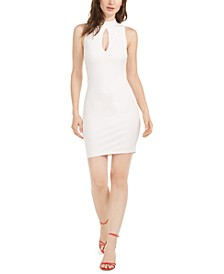 Sloane Keyhole-Front Cutout-Back Dress