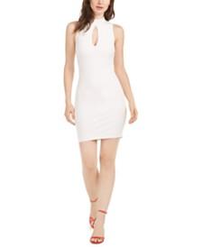 GUESS Sloane Keyhole-Front Cutout-Back Dress