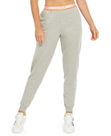 Calvin Klein Women's Neon Jogger Sleep Pants, First At Macy's