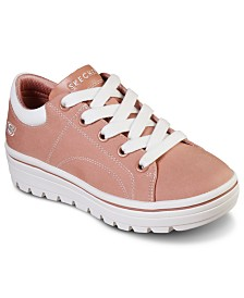 Skechers Women's Street Cleat Bring It Back Casual Sneakers from Finish Line