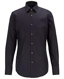 BOSS Men's Jonty Slim-Fit Easy-Iron Austrian Cotton Shirt