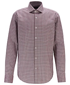 BOSS Men's Gordon Regular-Fit Fresh Active Cotton Shirt