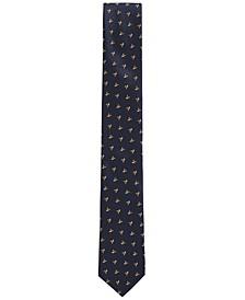 BOSS Men's Italian-Made Silk Jacquard Pattern Tie