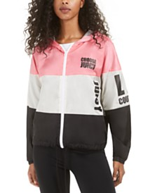 Juicy Couture Colorblocked Hooded Jacket