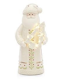 Lit Santa Figurine