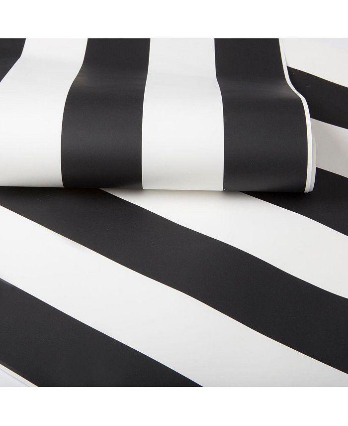 Graham & Brown - Monochrome Stripe Wallpaper