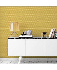 Graham Brown Triangolin Mustard Wallpaper
