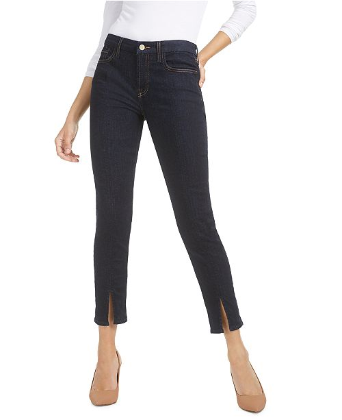 Jen7 by 7 For All Mankind Split-Seam Ankle Skinny Jeans