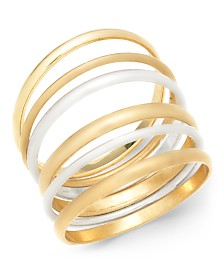 I.N.C. Two-Tone 6-Pc. Multi-Ring Stacking Set, Created For Macy's