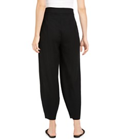 Eileen Fisher Pull-On Wool Pants, Regular & Petite