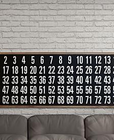 VIP Home International Wood Bingo Board Decor