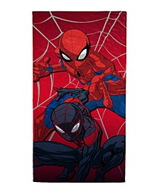 Spiderman Double Trouble Beach Towel