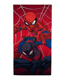 Marvel Spiderman Double Trouble Beach Towel